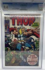 Thor 177 CGC Jack Kirby Comic 1970