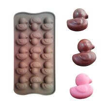 Duck Candy Silicone Chocolate Mold Design Cake Fondant Tray Bake mould ICE Cube