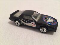 1982 Matchbox Pontiac Firebird SE Car #12 1:64 Black Space Halley's Comet Macau