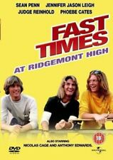 Fast Times At Ridgemont High [DVD], Good DVD, Amanda Wyss, Sean Penn, Brian Back