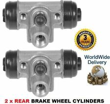 FOR HONDA INSIGHT 1.0i HYBRID 2000-12/2004 2x REAR BRAKE WHEEL CYLINDER SET