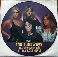 The Runaways - Little Lost Girls - Picture LP Vinyl US 1981 Joan Jett Lita Ford