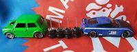 Set Of 4 Mixed 1/64 Enkei Comold With Speedhunters Tyre print Hot Wheels Custom