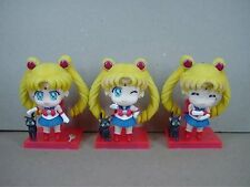sailor moon set of 3pcs  pvc figure toy anime collection figures new first