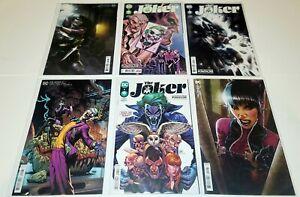 JOKER #1 2 3 4 5 + #2 2021 FULL SET JAMES TYNION 1ST PRINTS NM BATMAN DC COMICS
