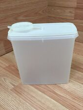 TUPPERWARE STORE & POUR Cereal Container Sheer 469-15 Pour Spout Lid 471-12