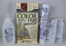 COLORERBE IPOCOLOR Couleur COLORATION cheveux crème 60ml 17 BLONDE CLAIR OR