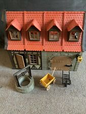 Vintage Playmobil Set 7145 Medieval House and Barn