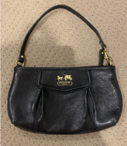 Coach Clutch, small bag, leather