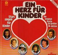 Ein Herz für Kinder (1979, K-tel) Andrea Jürgens, Reinhard Mey, Johnny Hi.. [LP]