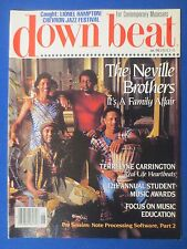 DOWN BEAT MAGAZINE JUNE 1989 NEVILLE BROTHERS TERRI LYNE CARRINGTON CHEVRON