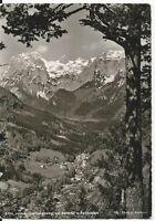 Ansichtskarte Ramsau - Blick vom Soleleitungsweg auf Ramsau - schwarz/weiß
