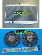 Radiator +FAN for Toyota Corolla AE90 AE92 AE94 Sedan/Seca 1989-1994 AT/MT