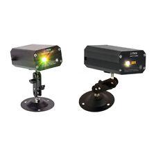 Fiesta Mini luz y sonido efecto láser luciérnaga Paquete Verde Rojo Dj Iluminación