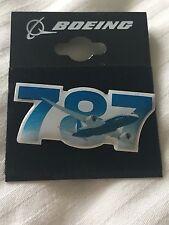 Boeing 787 Dreamliner Sky Pin Badge Button