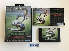 World Cup Italia 90 - Sega Megadrive - PAL EUR - Avec Notice