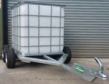 Trailer water bowser tanker tank Land rover ATV quad gator tractor tow axle hub