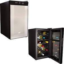 Ovation Wine Cooler Drinks Fridge Refrigerator Thermoelectric 18 Bottle Chiller