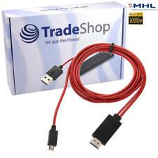 Micro USB MHL auf HDMI Kabel Adapter 1080p HDTV HDCP für HTC Rezound