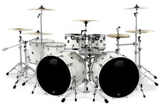 """DW Performance Lacquer Pearlescent White Drumset 12"""" 16"""" 22"""" Schlagzeug"""