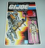 *RECARDED* 1988 GI Joe Storm Shadow v2 Figure Complete Sealed *CUSTOM Card Back*