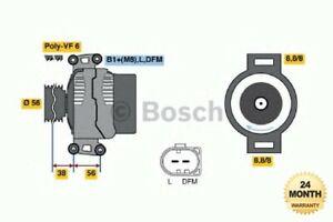 BOSCH Brand New ALTERNATOR UNIT for AUDI A4 1.8 T quattro 2000-2002