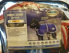 Weatherbeeta Parka 1200D Deluxe Dog Coat Jacket WaterProof Tough Warm Protection