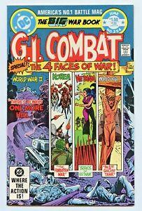 DC COMICS GI COMBAT 5 BOOK RUN  ISSUE'S #254 #255 #256 #257 #258 HAUNTED TANK
