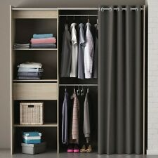 Kleiderschrank mit Vorhang Wäscheschrank Kinderzimmer Jugendzimmer SchrankB-WARE