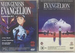 Neon Genesis Evangelion Collection Volume 1 + The End Of Evangelion DVD Like New