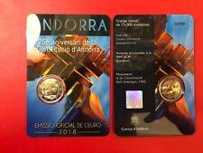 ANDORRA 安道爾 אנדורה ΑΝΔΟΡΡΑ SERIE ZECCA + 2 EURO DAL 2014 AL 2020 ENTRA e SCEGLI