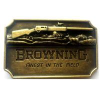 Browning Gun Men's Belt Buckle for women Texas Cowboy Rodeo Vintage belt buckle