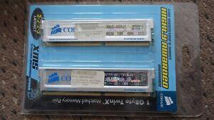 CORSAIR 400mhz CMX512-3200XL 2 x 512MB ,2-2-2-5  best memory 2003