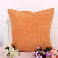 Velvet Square Rectangle Home Sofa Decor Throw Pillow Cover Case Cushion Cover US