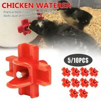 Poultry Water Nipple-Chicken Nipple Horizontal Side Mount-Water Drinker