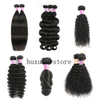 8-30inch Real Hair Wig Bundle Brazilian Bundle Wave Straight Curly Natural Color