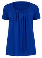Marks & Spencer Womens Short Sleeve Soft Honeycomb T-Shirt Top New M&S Summer T
