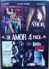 De Amore 4 Pack ( DVD 2012) 4 Feature Films  1 EVA LONGORIA RARE HTF BRAND NEW