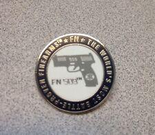 FN 509 LAPEL TIE TACK PIN  WEAPONS SWAT SNIPER GUNS FN HERSTAL USA FNH