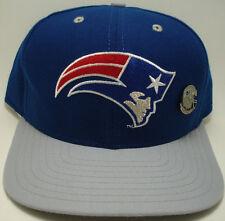 NEW ENGLAND  PATRIOTS /w PIN New Era Classic NFL Vtg 90s Snapback Hat Cap