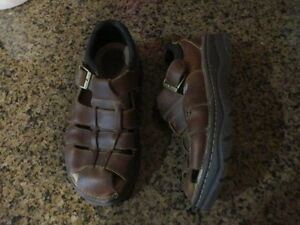 Red Stone 6244 brown leather sandals Shoes Mens 9