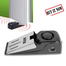 Home Security Safety Door Stop Stopper Blocking Wedge Warning Alarm Alert System