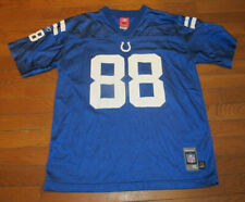Marvin Harrison #88 Colts NFL Football White Jersey Reebok Youth Size XL 18-20