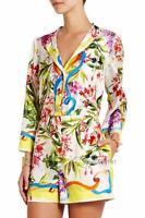 Dolce Gabbana Print Jumpsuit Dress UK12-14 IT46 Authentic