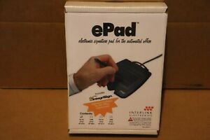 Interlink EPad Electronic Signature Pad Serial Port Model VP 9701 MS Office New
