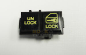 90-92 Camaro RS Z28 PDL Electric Power Door Lock Switch BLACK/YELLOW RH NEW GM