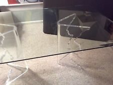 """Mid-Century Sculptural Icicle Dining/console Table"""