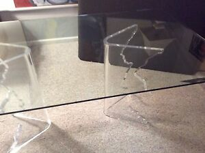 """""""Mid-Century Sculptural Icicle Dining/console Table"""""""