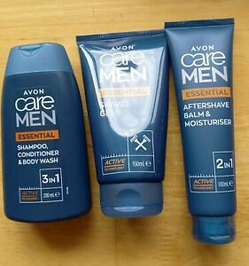 """Avon Care Shower & Shave Essential Set.""""Ideal Fathers Day Gift"""" Brand New"""