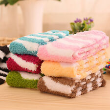6 Pairs Women Ladies Winter Coral Fleece Thicken Warm Fluffy Winter Floor Socks